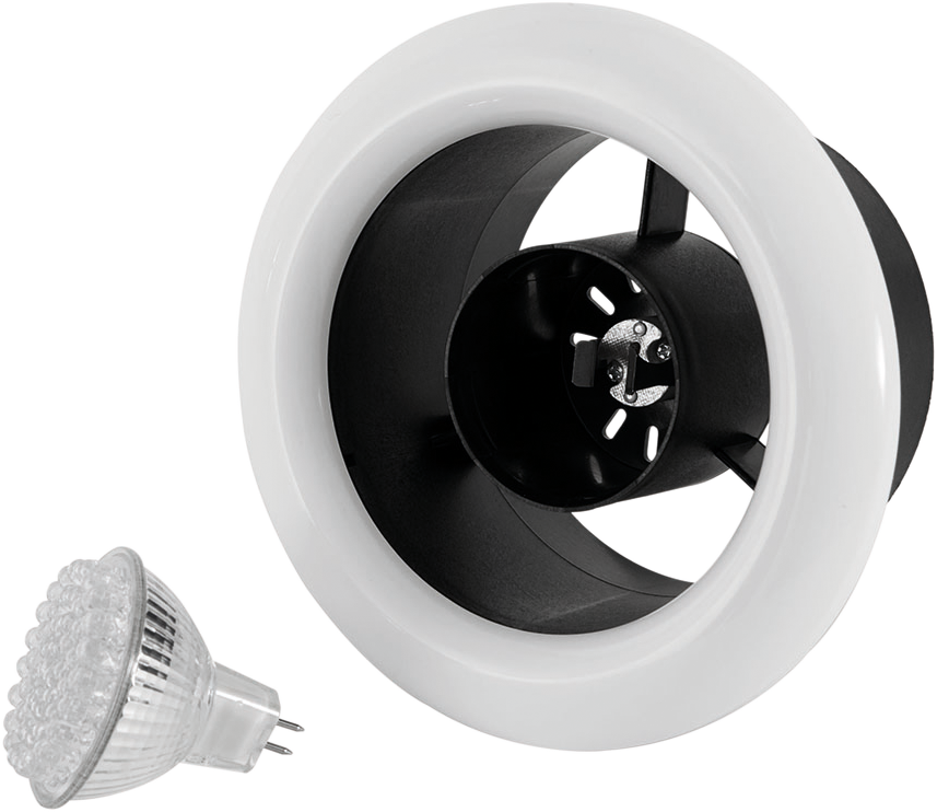 Airline LED - Airline LED 100 Inline Extract Fan - ALL100 - 4