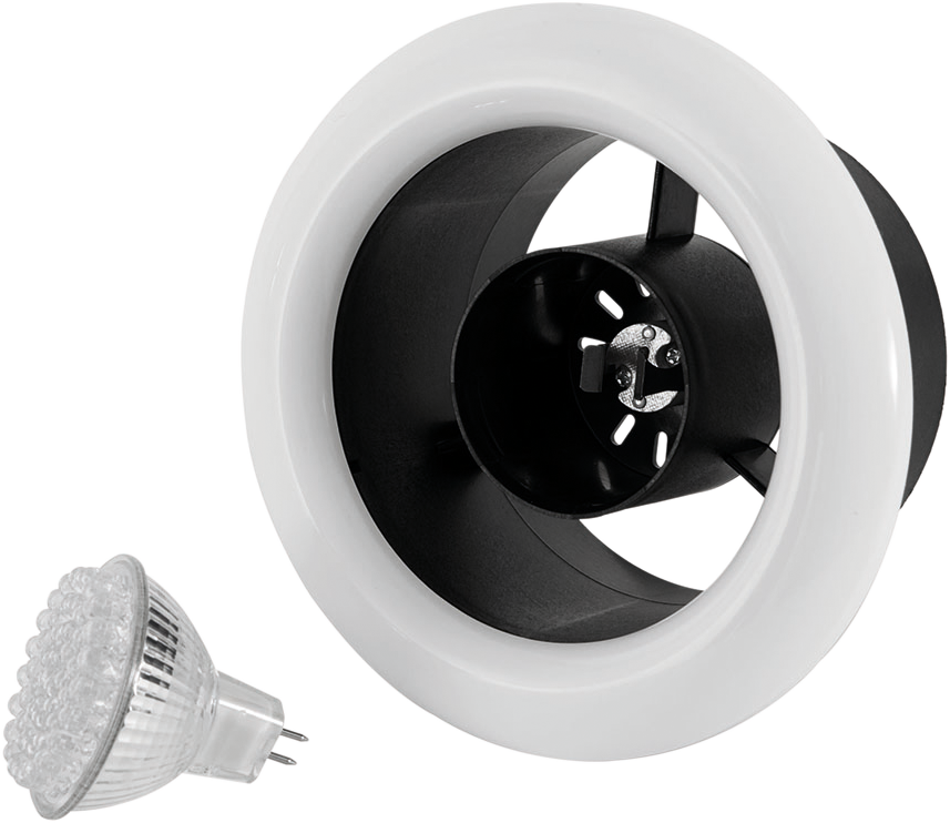 Airline LED - Airline LED 100T Inline Extract Fan - ALL100T - 4