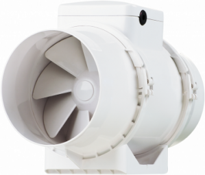 XIMX - XIMX125 Inline Mixed Flow Duct Fan - XIMX125 - 0